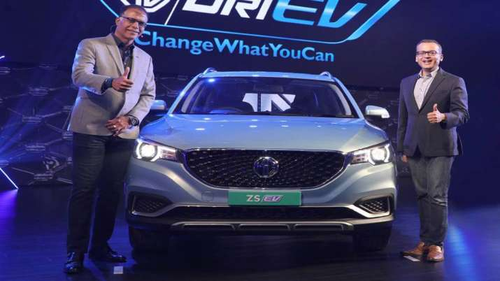 MG Motors' launches electric internet SUV ZS EV in India- India TV Paisa