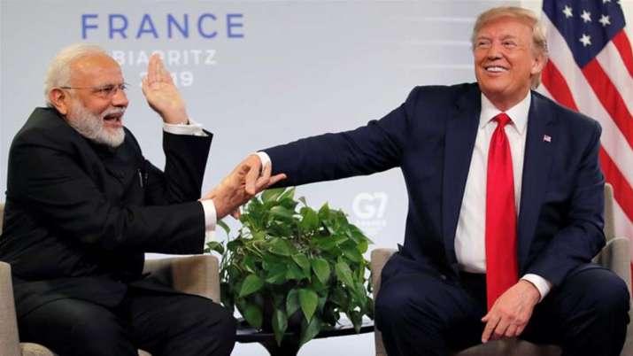 Narendra Modi and Donald Trump- India TV