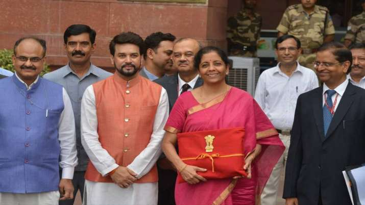 All eyes on Sitharaman's second Budget for tax relief- India TV Paisa
