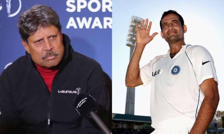 Kapil Dev and Irfan Pathan- India TV