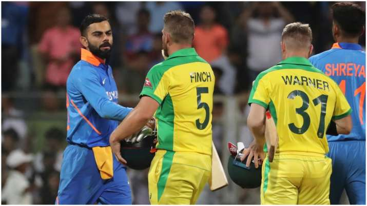 India vs Australia, India, Australia, 1st ODI, Virat Kohli, Aaron Finch, David Warner, Shikhar dhawa- India TV