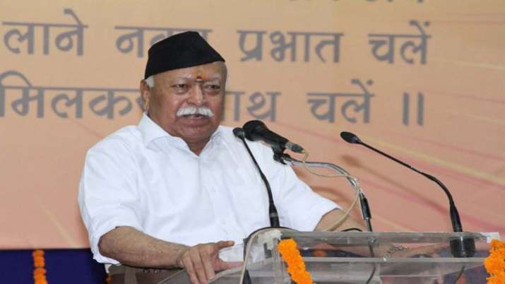 RSS Chief, Mohan Bhagwat- India TV