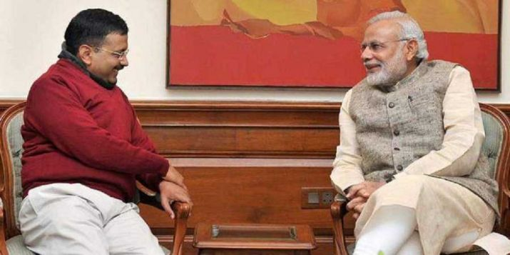 PM Modi Arvind Kejriwal- India TV
