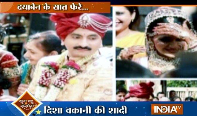 WEDDING ALBUM: 'तारक मेहता..' की...- Khabar IndiaTV