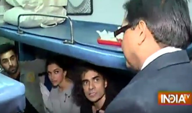 रणबीर-दीपिका जब फंसे...- Khabar IndiaTV