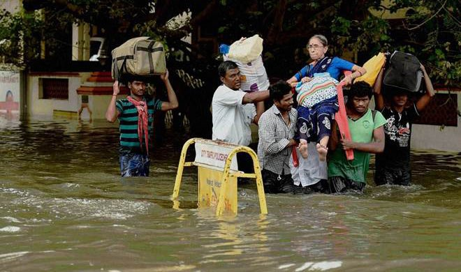 #chennairains: PM मोदी ने मदद को...- Khabar IndiaTV