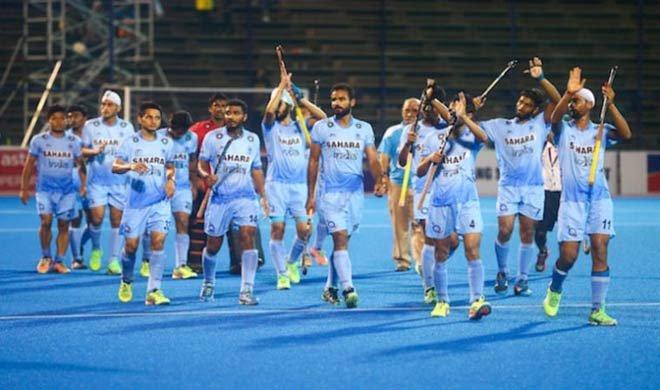 जूनियर हॉकी : भारत ने...- India TV