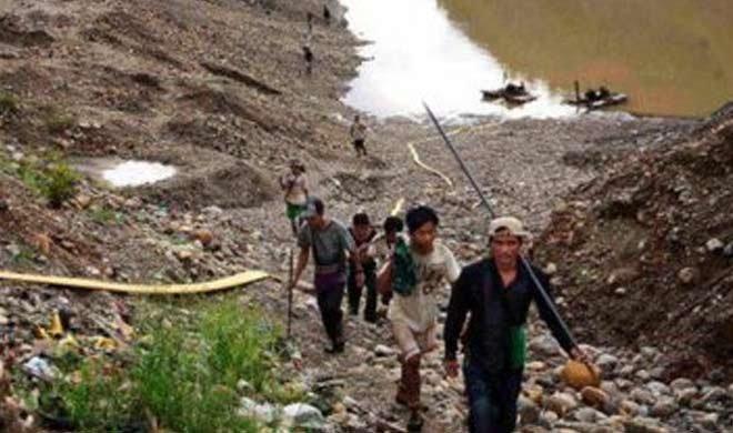 म्यांमार: भूस्खलन में...- Khabar IndiaTV
