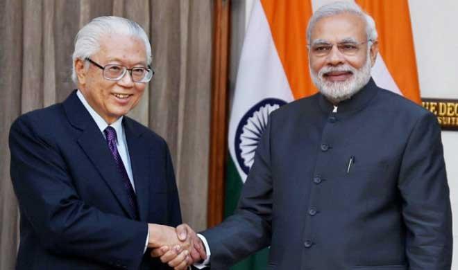 पीएम मोदी का सिंगापुर...- India TV